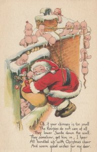 Rosie O'NEILL; CHRISTMAS ; Santa Claus & Kewpies , 1923