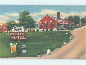 Linen MOTEL SCENE Roanoke Virginia VA AD9798-12