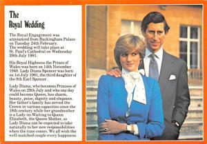 The Royal Wedding - Lady Diana