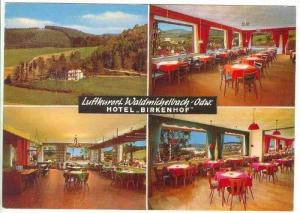 Luftkurort Waldmichelbach Odw. Hotel  BIRKENHOF , Germany 1950-70s