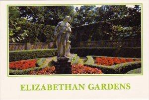 The Elizabethan Gardens Roanoke Island North Carolina