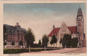 WITTENBERGE, Bradenburg, Germany, PU-1928; Rathaus - Lyceum