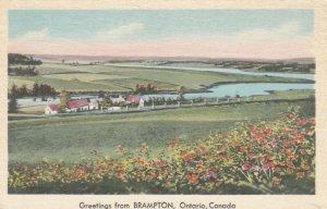 BRAMPTON , Ontario, Canada, 1930s; Greetings