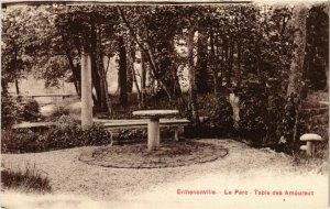 CPA Ermenonville- Le Parc, Table des Amoureaux FRANCE (1020479)