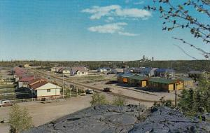 D.O.T.-Block , with Con.-Mine in Background , YELLOWKNIFE, N.W.T., Canada , 5...