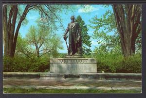 Ezra Cornell Statue,Cornell University,Ithaca,NY BIN