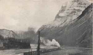 MOUNT STPHEN , B.C. , 1900-10s ; Train