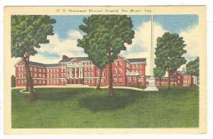 US Government Veterans' Hospital, Des Moines, Iowa, 1930-1940s