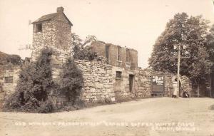 Granby Connecticut Old Newgate Prison Copper Mines Real Photo Postcard JC932461