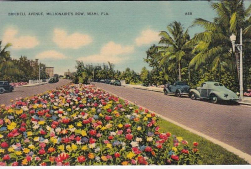 Florida Miami Brickell Avenue Millionaire's Row
