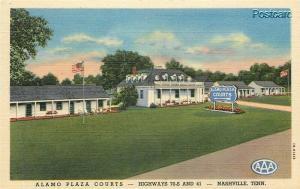 TN, Nashville, Tennessee, Alamo Plaza Courts, Curteich No. 1B-H1436