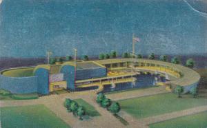 Reflective Surface, Marine Building, World's Fair, New York, 30s