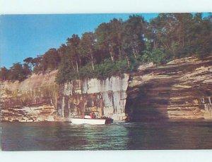 Pre-1980 NATURE SCENE Munising Michigan MI AD2643