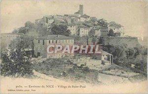 Postcard Old Nice surroundings of Saint Paul Village