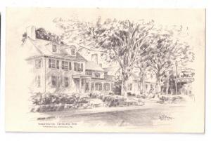 Washington Crossing Inn PA Jas. F Murray 1953 Artist