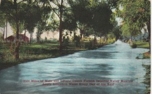 IMPERIAL VALLEY , California , 1900-10s ; Irrigation Canal