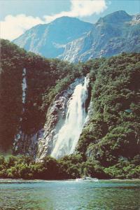 New Zealand Bowen Falls Milford