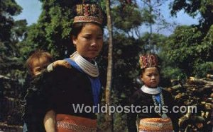 Young Meo Hill Tribe Chiengmai Province Thailand Unused