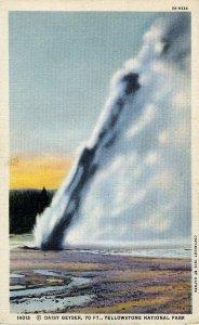 [ Linen ] US Wyoming Yellowstone - Daisy Geyser