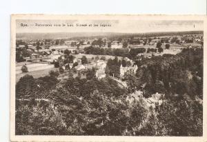 Postal 027099 : Spa. - Panorama vers le Lac, Niveze et les fagnes. Maison de ...