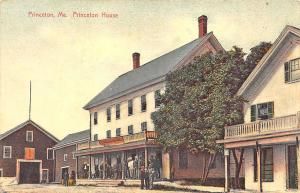 Princeton ME Main Street The Princeton House Postcard