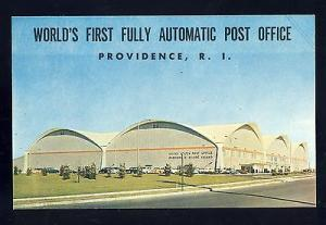 Providence, Rhode Island/RI Postcard,World's First Automatic