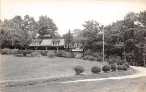 B68/ Canton Maine Me RPPC Real Photo Postcard c30s Pinewood Camps Main Bungalow