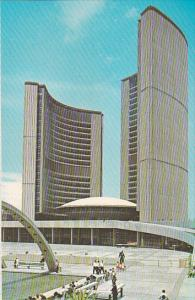 Canada Ontario Toronto The New City Hall With Pool