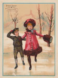 TC: Star Soap , 1900-10s; Schultz & Co. , ZANESVILLE, Ohio # 3