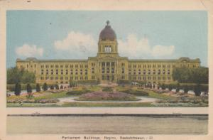 REGINA , Saskatchewan, Canada , 1930s ; Parliament Buildings