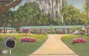 Florida Ocala Southwind Motel Florida On U S Highways 41 301 27 2 Miles South...