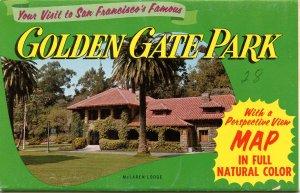 Folder - Golden Gate Park, San Francisco, CA         5 views + narrative + co...
