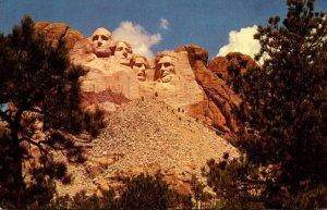 South Dakota Black Hills Mount Rushmore National Memorial 1966