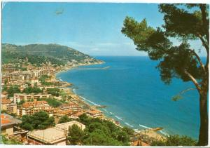 Italy, Andora, Panorama, 1982 used Postcard