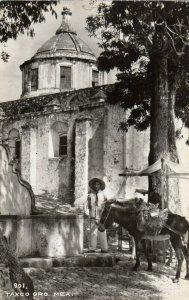 RP; TAXCO , Mexico , 30-40s ; #4 ; Donkey