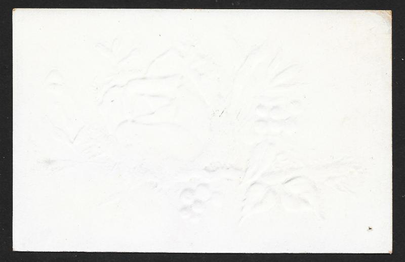 VICTORIAN TRADE CARD Tansills Punch Cigar Rose, Stem & Leaves