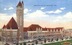 Union Station, St Louis, MO, Missouri, USA Train Railroad Station Depot 1946 ...