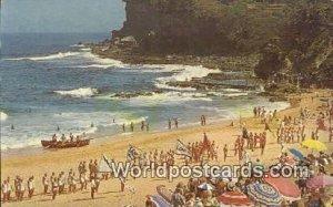 Analon Beach Sydney Australia Writing On Beach