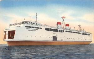 Vacationland Michigan Newest and Largest Car Ferry