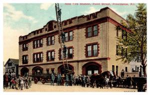Rhode Island  Providence , Point Street Fire Station
