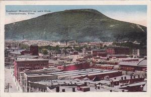 Tennessee Chattanooga Lookout Mountain As Seen From Chattanooga 1915