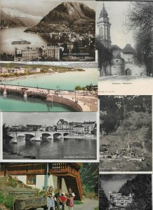 Switzerland Solothurn Basel Lauterbrunnen and More Lot of 40 01.10