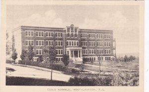 MONT LAURIER, Quebec, Canada, 1900-1910's; Ecole Normale