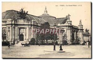Paris Notre Dame Old Postcard The Grand Palace