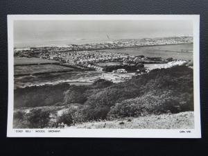Wales Flintshire GRONANT Coed Bell Woods COAST & CARAVAN SITE c1940s RP Postcard