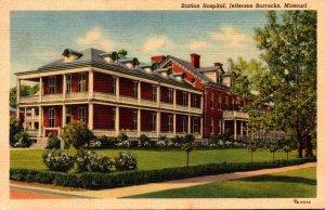 Missouri Jefferson Barracks 1941 Curteich