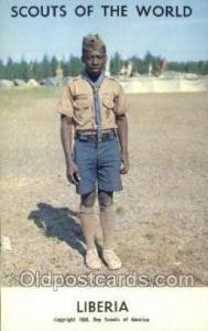 Liberia Boy Scouts of America, Scouting Postcard, Post Cards, Copyright 1968 ...
