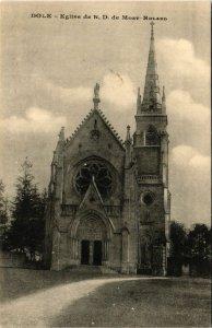 CPA DOLE Église de Notre Dame de Mont Roland (447207)