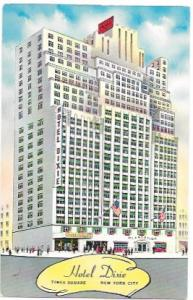 US Hotel - Motel - Hotel Dixie, Times Square, New York City.