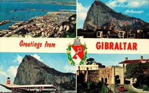 Gibraltar Greetings Multi View 1966
